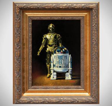 R2d2_c3po_oil_paint